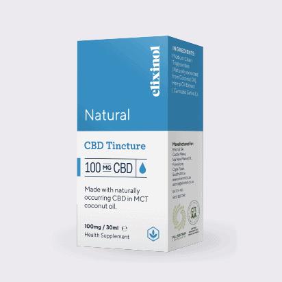 ELIXINOL natural CBD 100mg Box