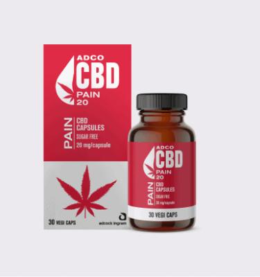 ADCO CBD PAIN CAPSULES