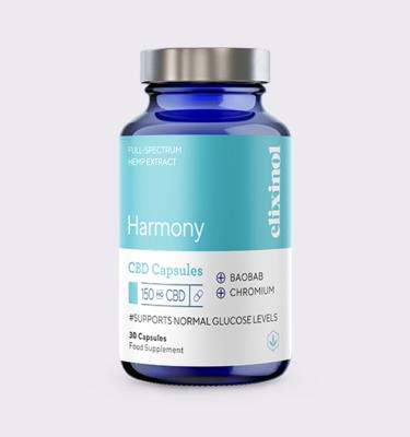 Elixinol Bottle Blended Harmony