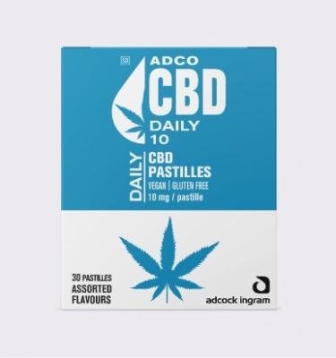 ADCO CBD DAILY PASTILLES Box
