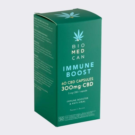 biomedcan za immune boost cbd capsules